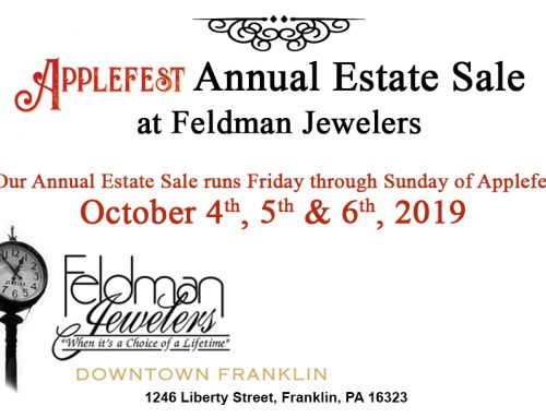 2019 Applefest Annual Estate Sale