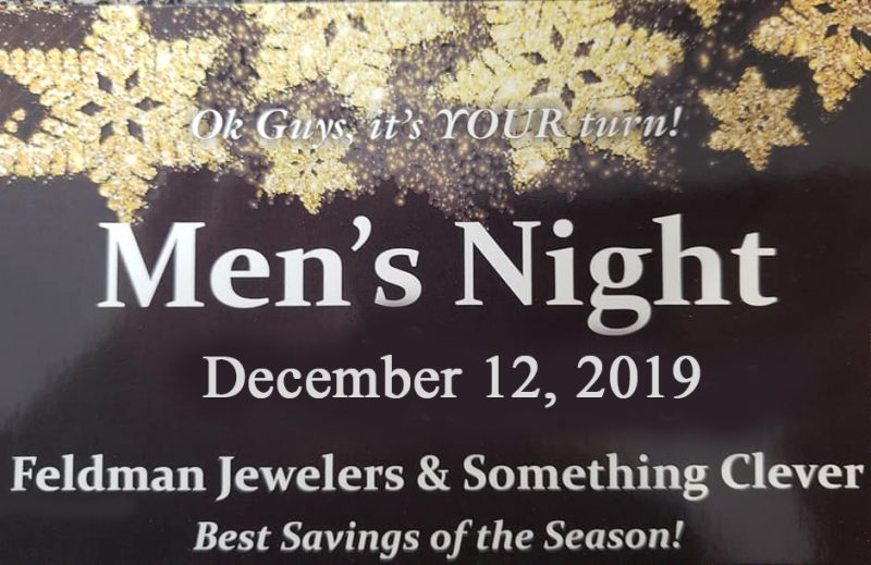 Feldman Jewelers Mens Night